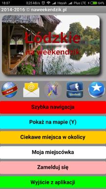 Pobierz z Google Play darmową aplikację 'Łódzkie na weekendzik' na smartfona z Androidem