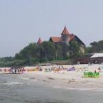 Łeba – szeroka, czysta plaża i port