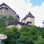 Zamek Orawski na Słowacji – tuż za polską granicą