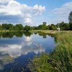 """Zalew i kąpielisko """"Zajączek"""" w Łasku"""