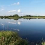 Sztuczny zbiornik wodny w Chechle Pierwszym