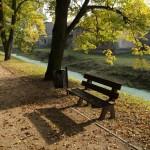 Park miejski w Łęczycy
