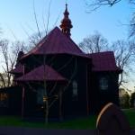 Modrzewiowy kościół św. Wawrzyńca i Tomasza w  Łobudzicach