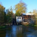 Stary młyn wodny w Nowych Kozubach