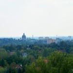 Widok z Góry na Rogach w Łodzi