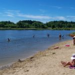 Plaża w Próbie k. Sieradza