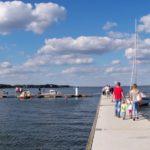Port jachtowy i plaża w Ostrowie Warckim